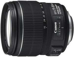 Canon EF-S 15-85 mm F/3 5-5 6 IS USM Lens for EOS Cameras