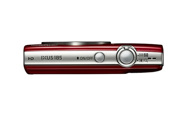 Canon IXUS 185 (20.5MP) Digital Compact Camera 8x Optical Zoom 2.7 inch TFT LCD (Red)