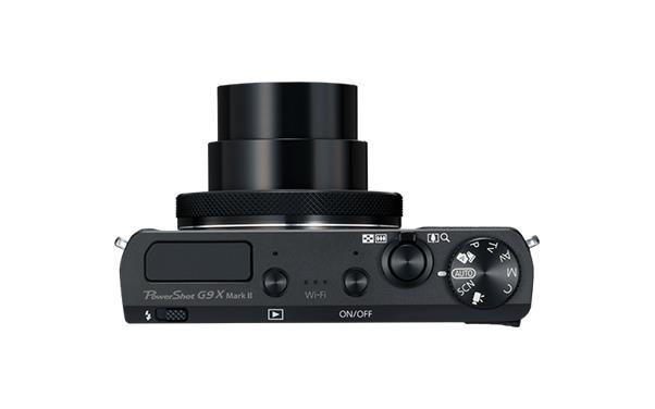 Canon PowerShot G9 X Mark II (20.9MP) Digital Camera 3x Optical Zoom 3 inch TFT LCD Bluetooth (Black)
