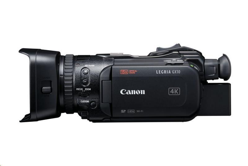 Canon LEGRIA GX10 4K UHD Digital Camcorder (Black)