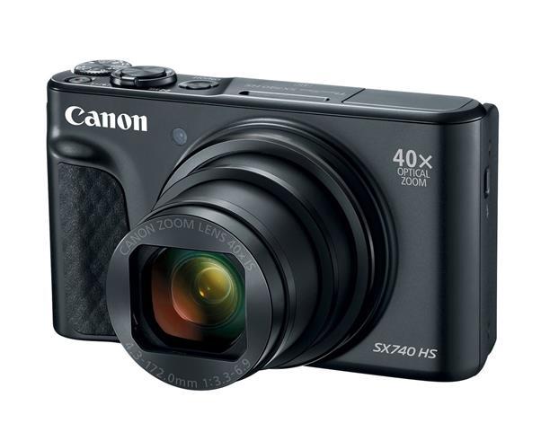 Canon PowerShot SX740 HS (20.3MP) Ultra Sharp 4K Digital Camera (Black)