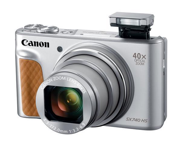 Canon PowerShot SX740 HS (20.3MP) Ultra Sharp 4K Digital Camera (Silver)