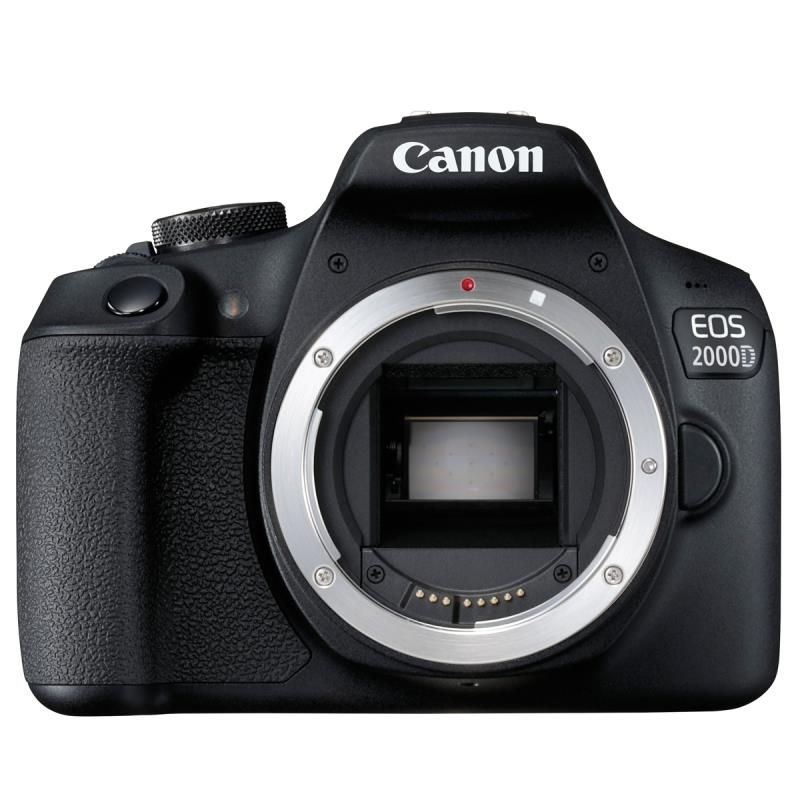 Canon EOS 2000D (24.1MP) Digital SLR Camera 3.0 inch LCD (Black) Body Only