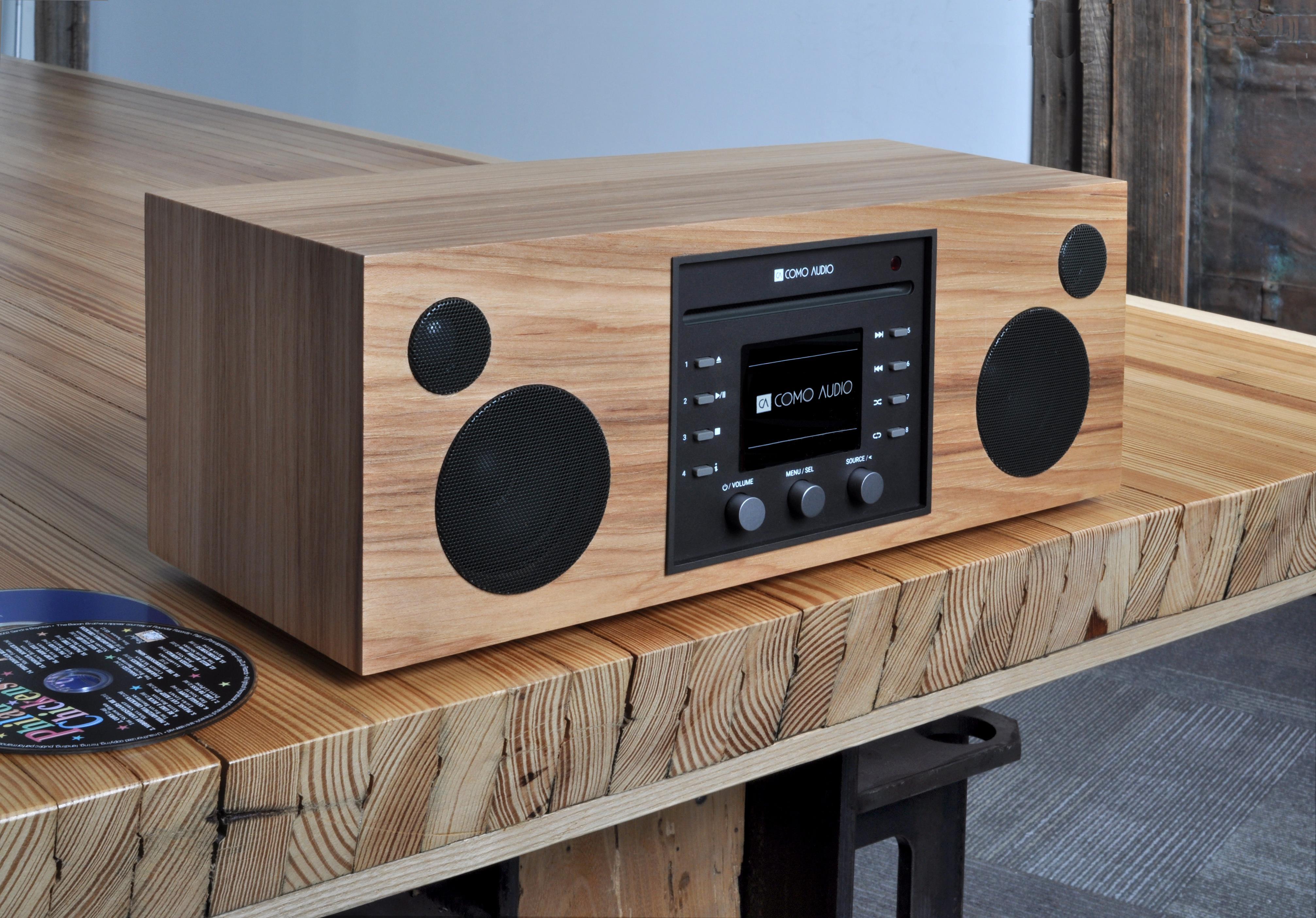 Como Audio Musica CD/DAB Sound System (Hickory)