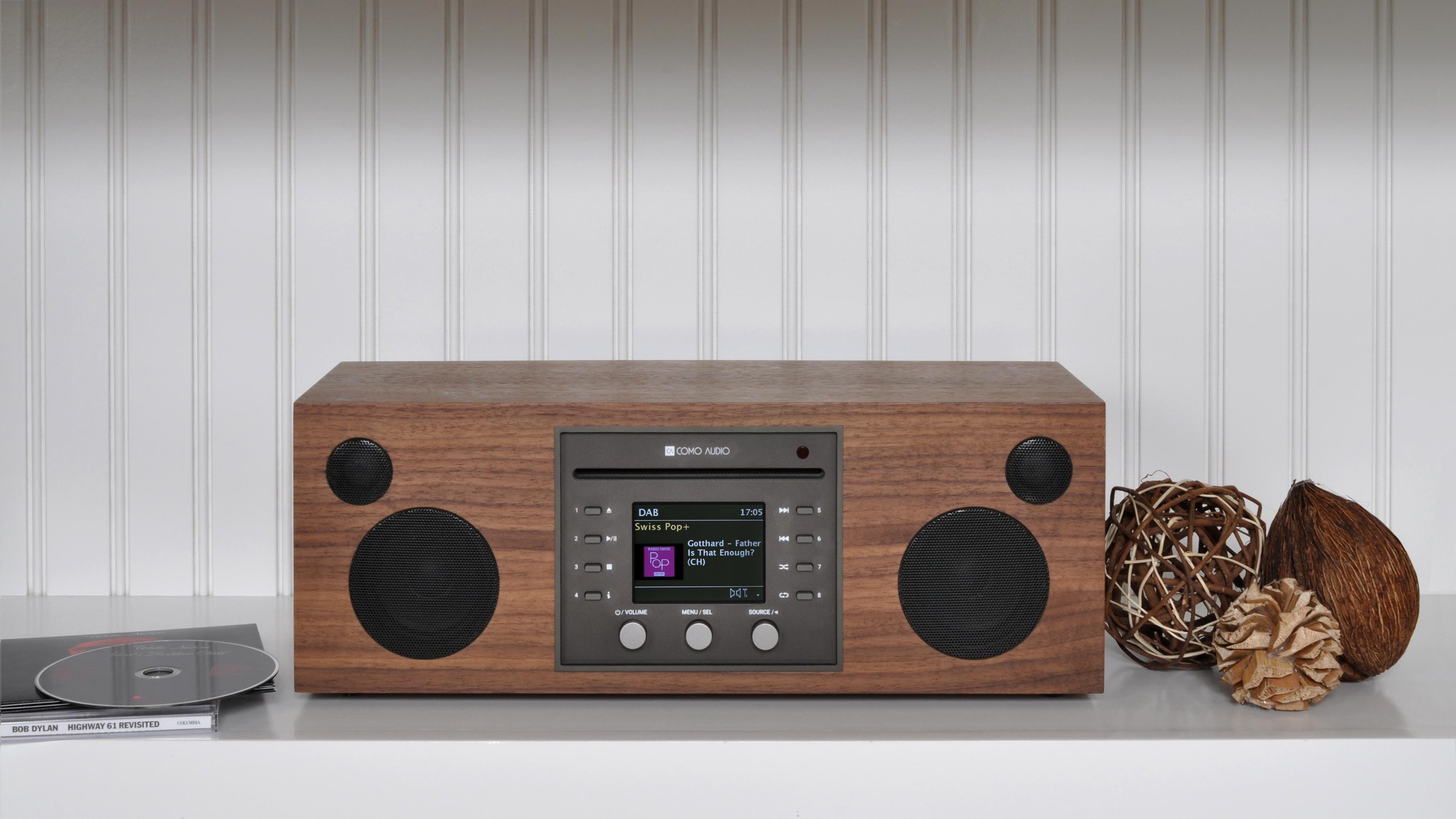 Como Audio Musica CD/DAB Sound System (Walnut)