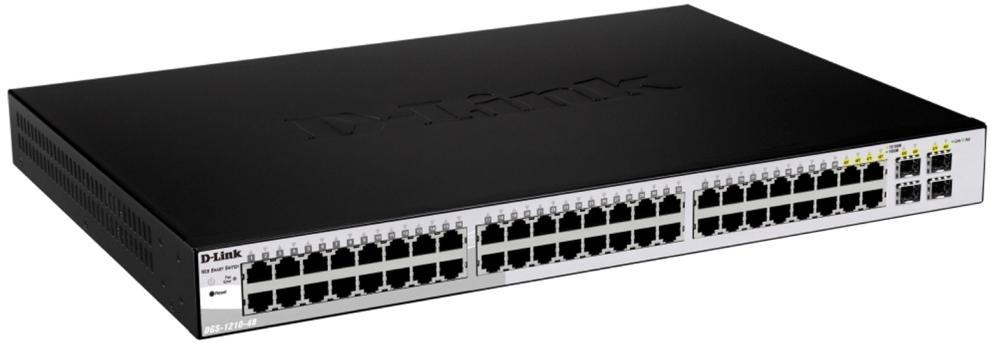 D-Link DGS-1210-52 (52-Port) Gigabit Smart Switch with 4 SFP Ports