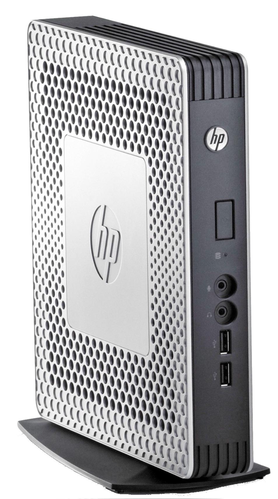 HP t610 Flexible Thin Client Dual Core (T56N) 1.65GHz 2GB RAM 4GB Flash LAN Windows 7 Standard Embedded (Radeon HD 6320)