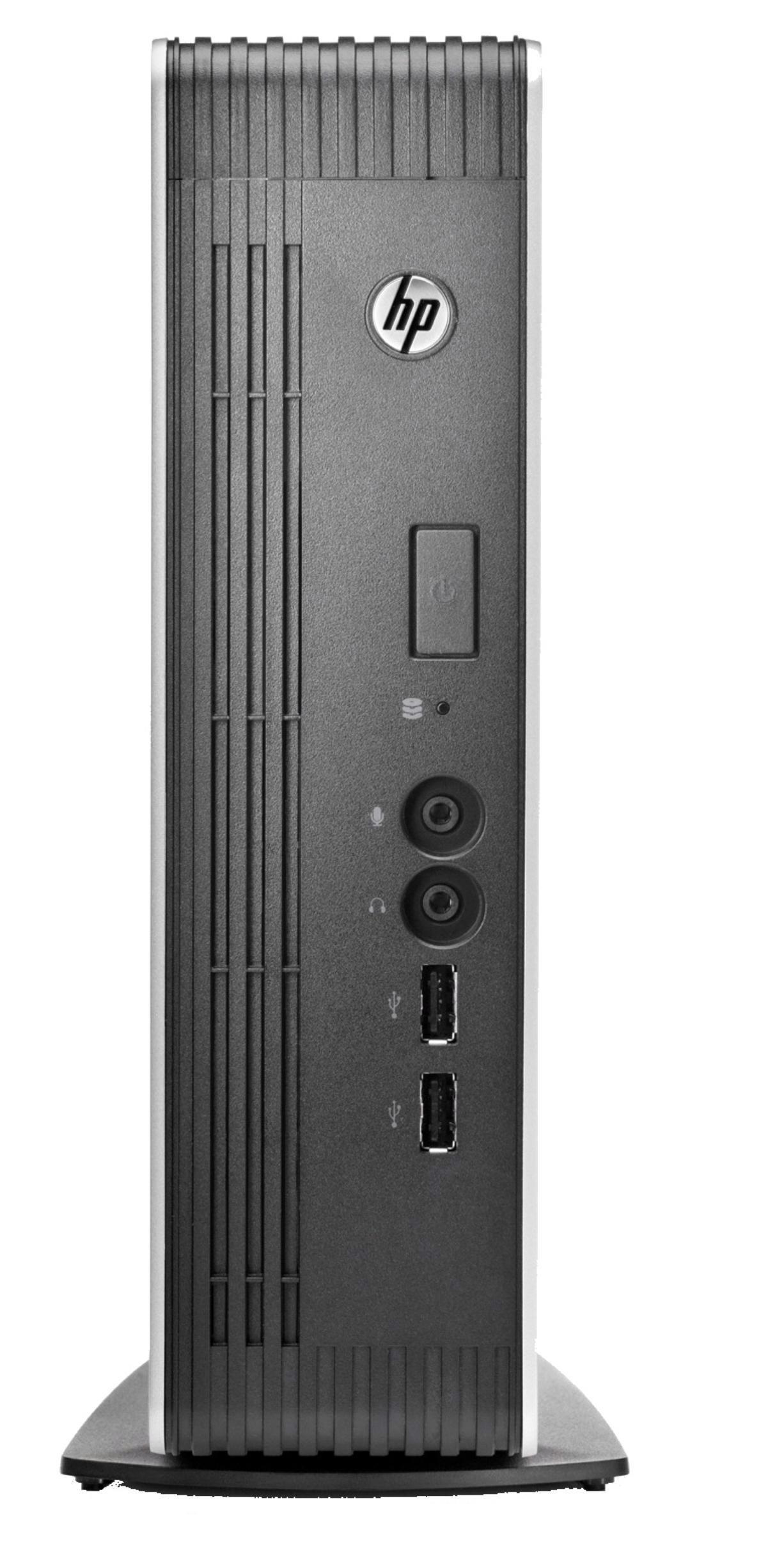 HP t610 PLUS Flexible Thin Client Dual Core (T56N) 1.65GHz 4GB LAN Windows 7 Standard Embedded
