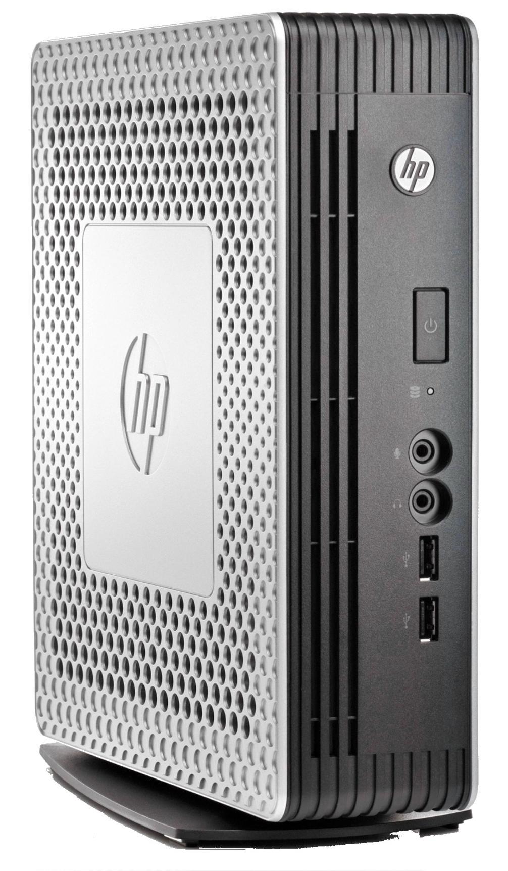 HP t610 PLUS Flexible Thin Client Dual Core (T56N) 1.65GHz 4GB LAN Windows Embedded Standard 7E