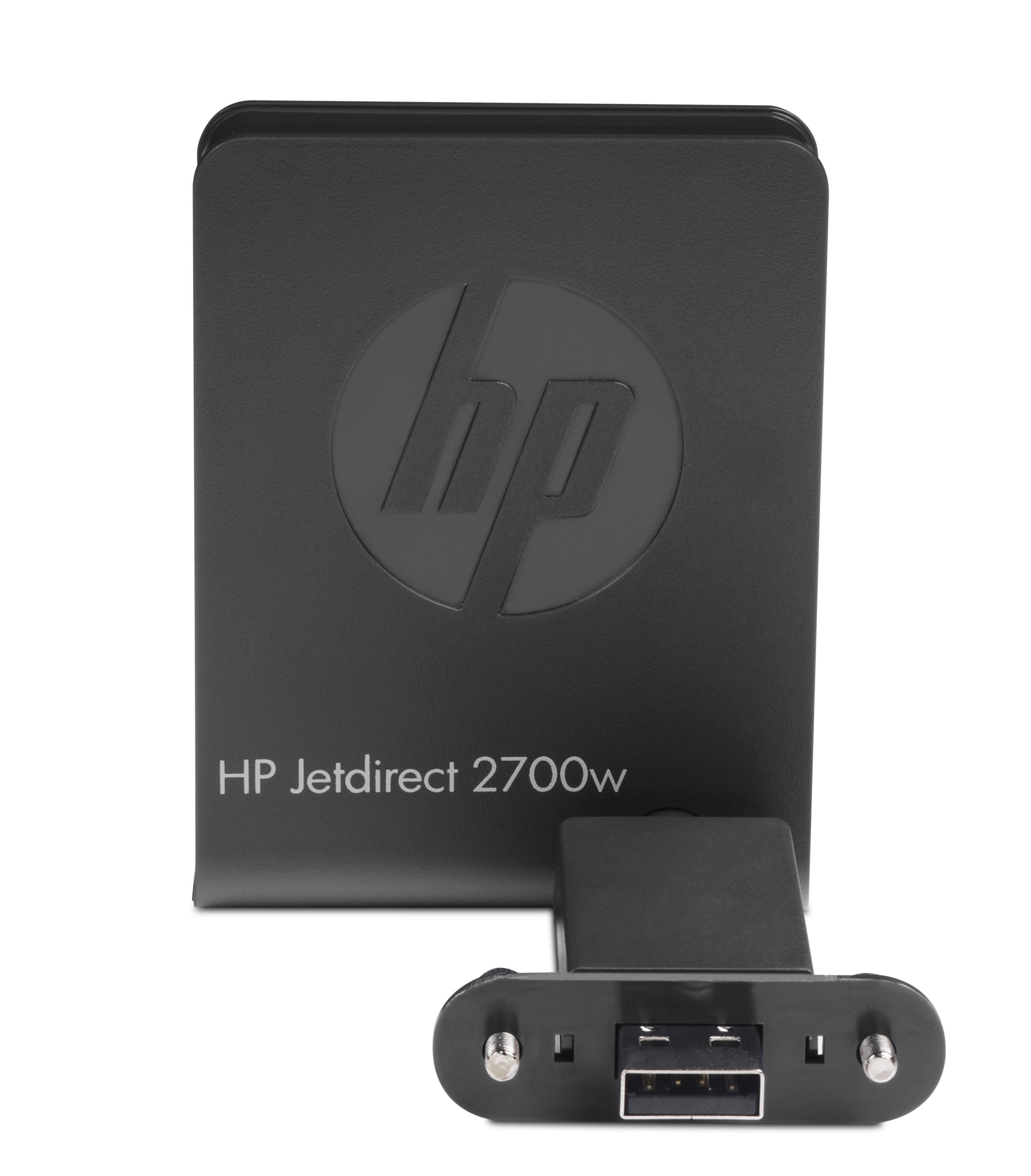 HP Jetdirect 2700w USB Wireless Printer Server