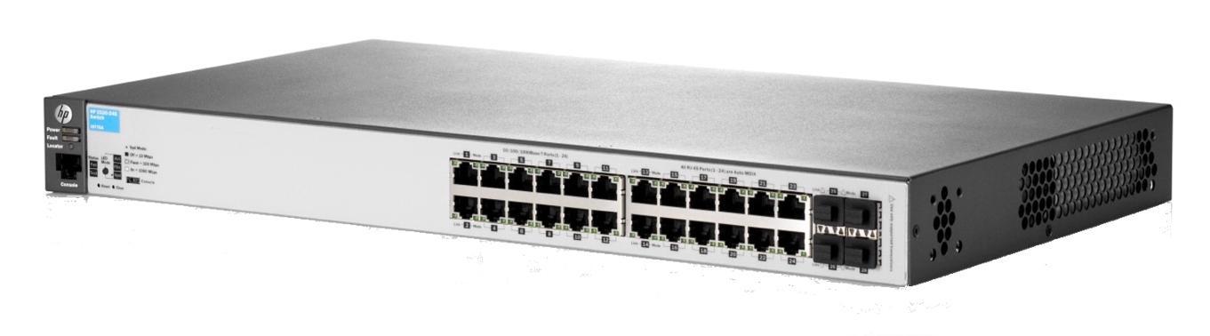 HP 2530-24G (24-Port) Network Switch