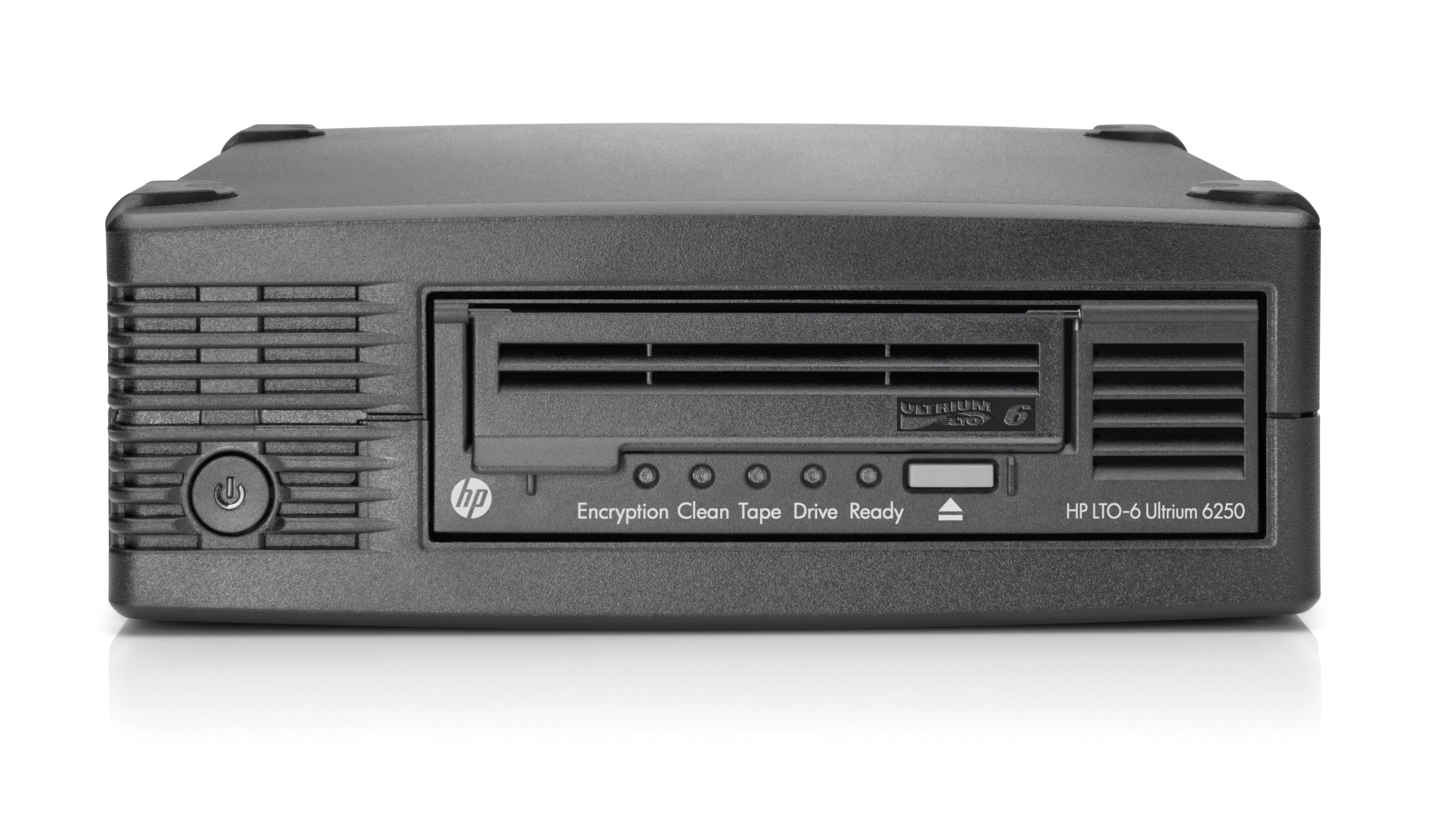 HP StoreEver LTO-6 Ultrium 6250 Tape Drive (External)