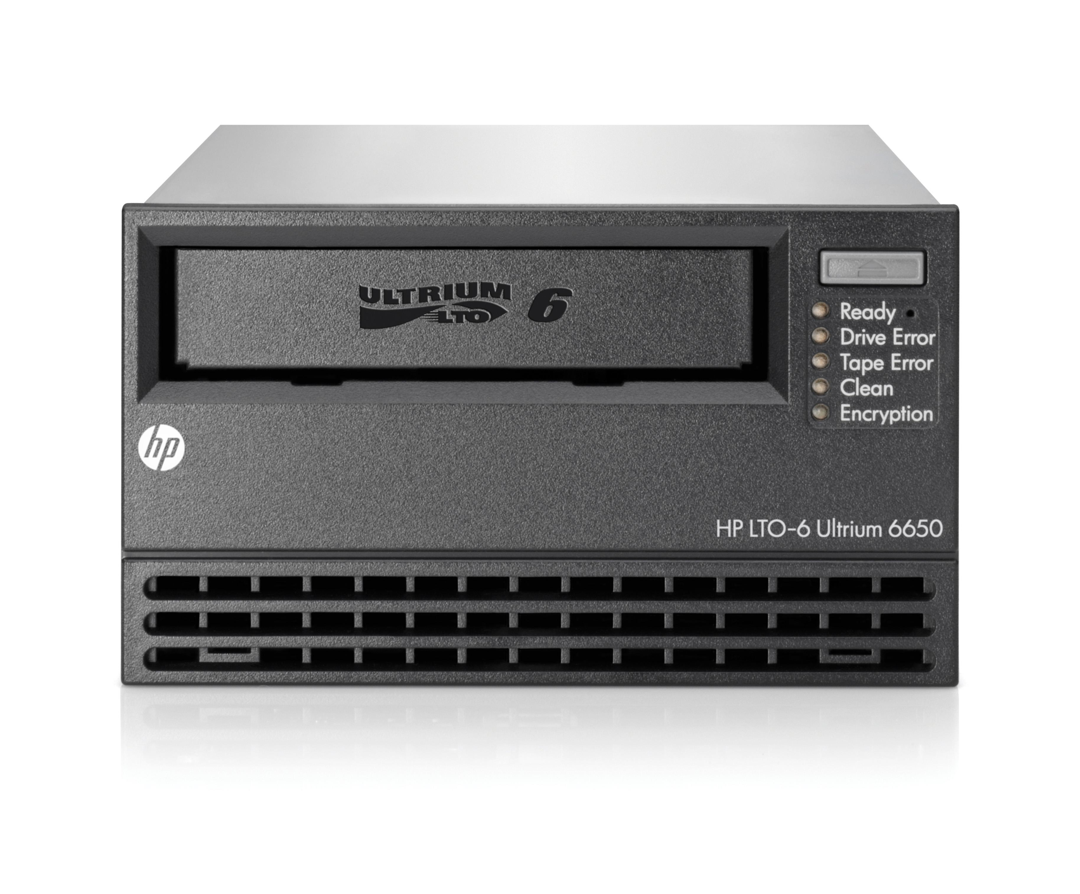 HP StoreEver LTO-6 Ultrium 6650 (6.25TB) Tape Drive SAS 5.25 inch Full Height (External)