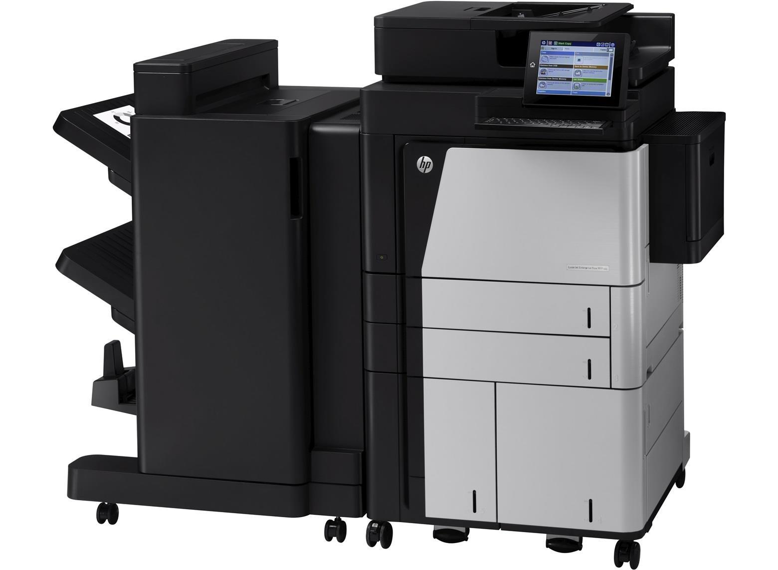 HP LaserJet Enterprise M830z (A3) Mono Laser Networked Multifunction Printer (Print/Copy/Scan/Fax) 1.5GB 20.3cm Colour LCD 56ppm 300,000 (MDC)