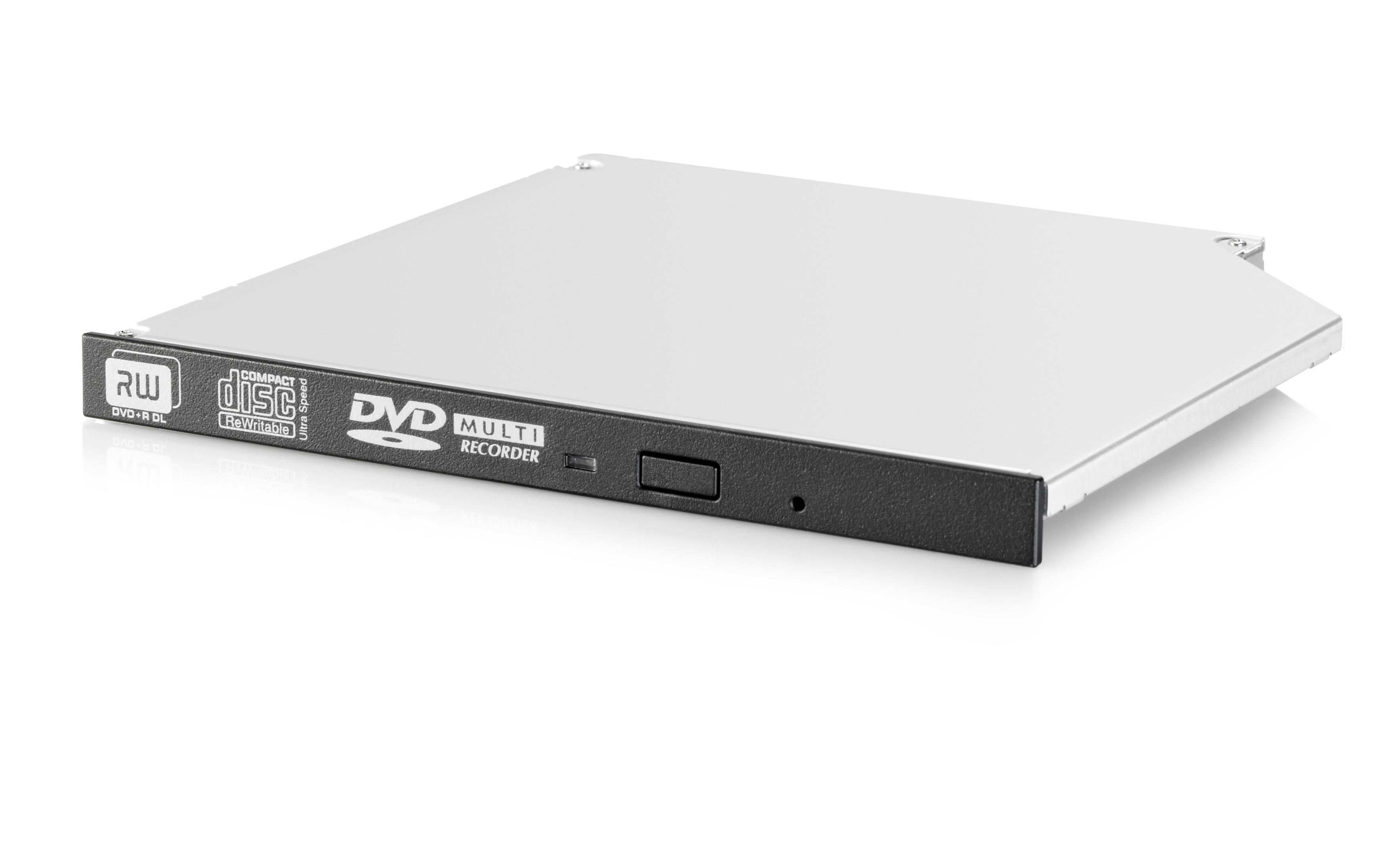 HP 9.5mm SATA DVD-RW Optical Drive (Internal) JackBlack for ProLiant Gen9 Servers