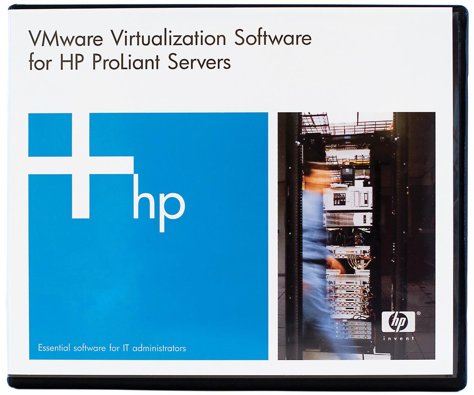 HP VMware vSphere 2xEnterprise Plus 1 Processor with Insight Control 3 Year E-LTU