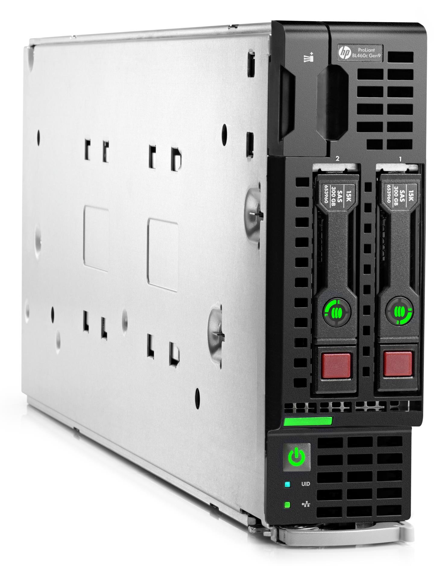 HP ProLiant BL460c Gen9 Blade Server/TV (1P) Xeon E5 (2620 v3) 2.4GHz 32GB-R (no HDD) SFF (Matrox G200eh 256MB)