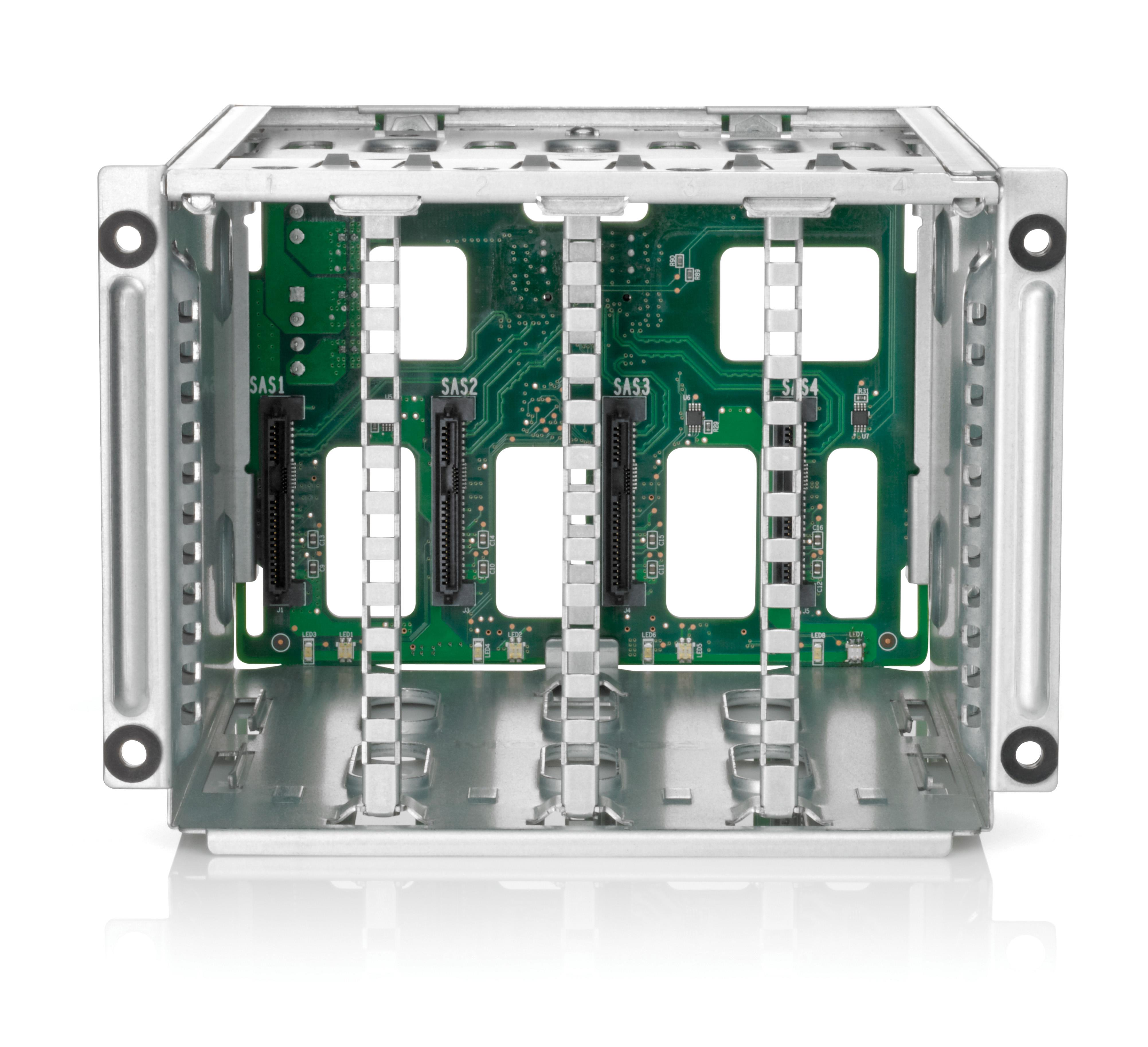 HP 5 Small Form Factor Drive Backplane Cage Kit ProLiant DL580 Gen8 Server