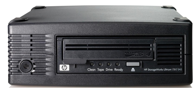 HP StoreEver LTO-4 Ultrium 1760 SAS Internal Tape Drive with 5 LTO-4 Media/TVlite