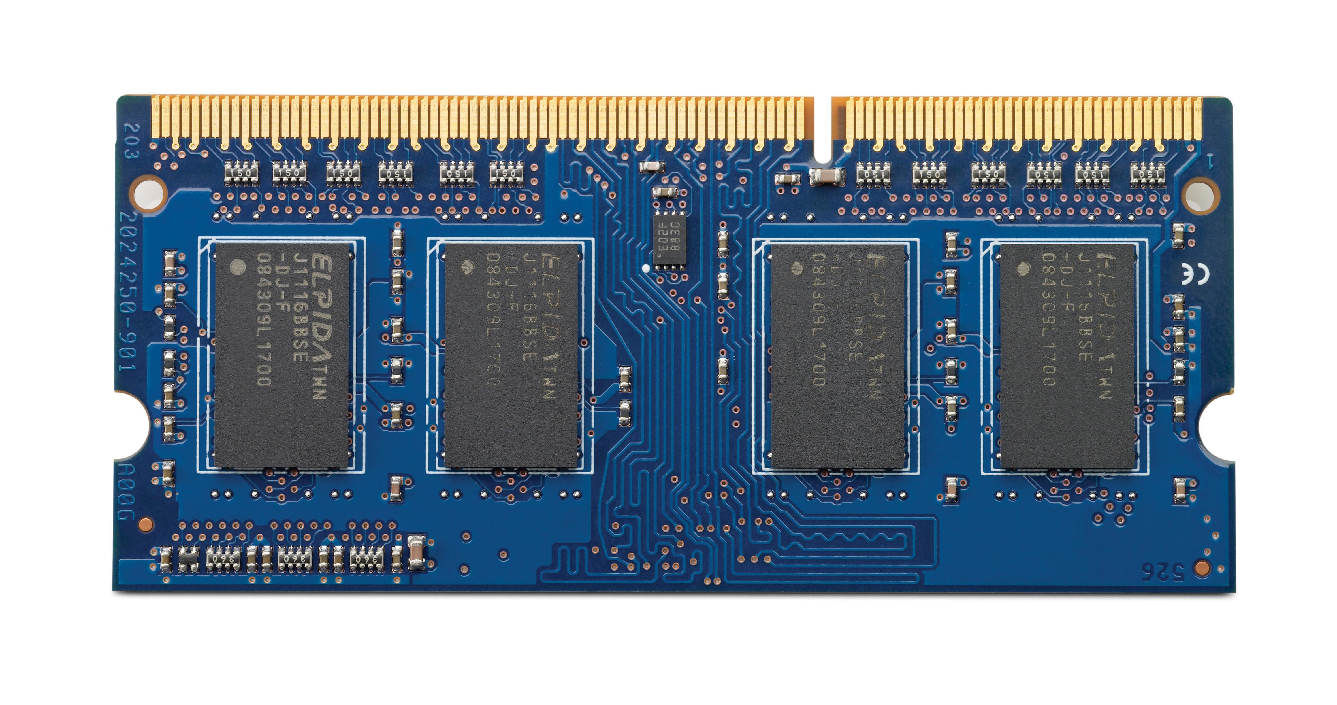 HP (8GB) Memory Module 1600MHz DDR3L SODIMM 1.35V