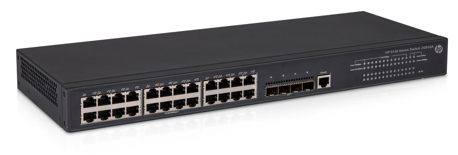 HP 5130-24G-4SFP+ EI Ethernet Network Switch