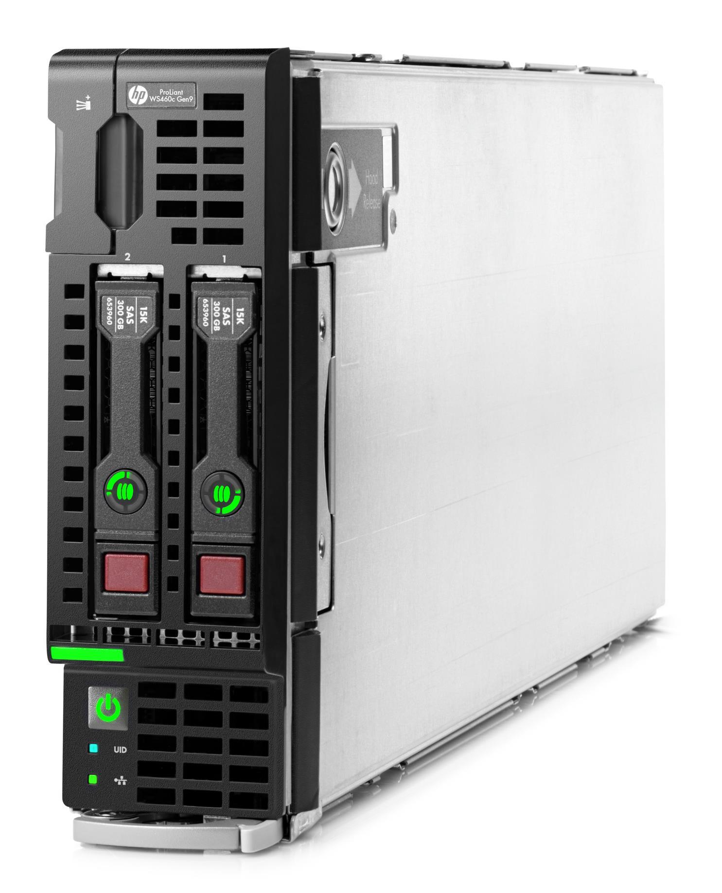 HP ProLiant WS460c Gen9 E5-v3 Configure-to-order Graphics Server Blade