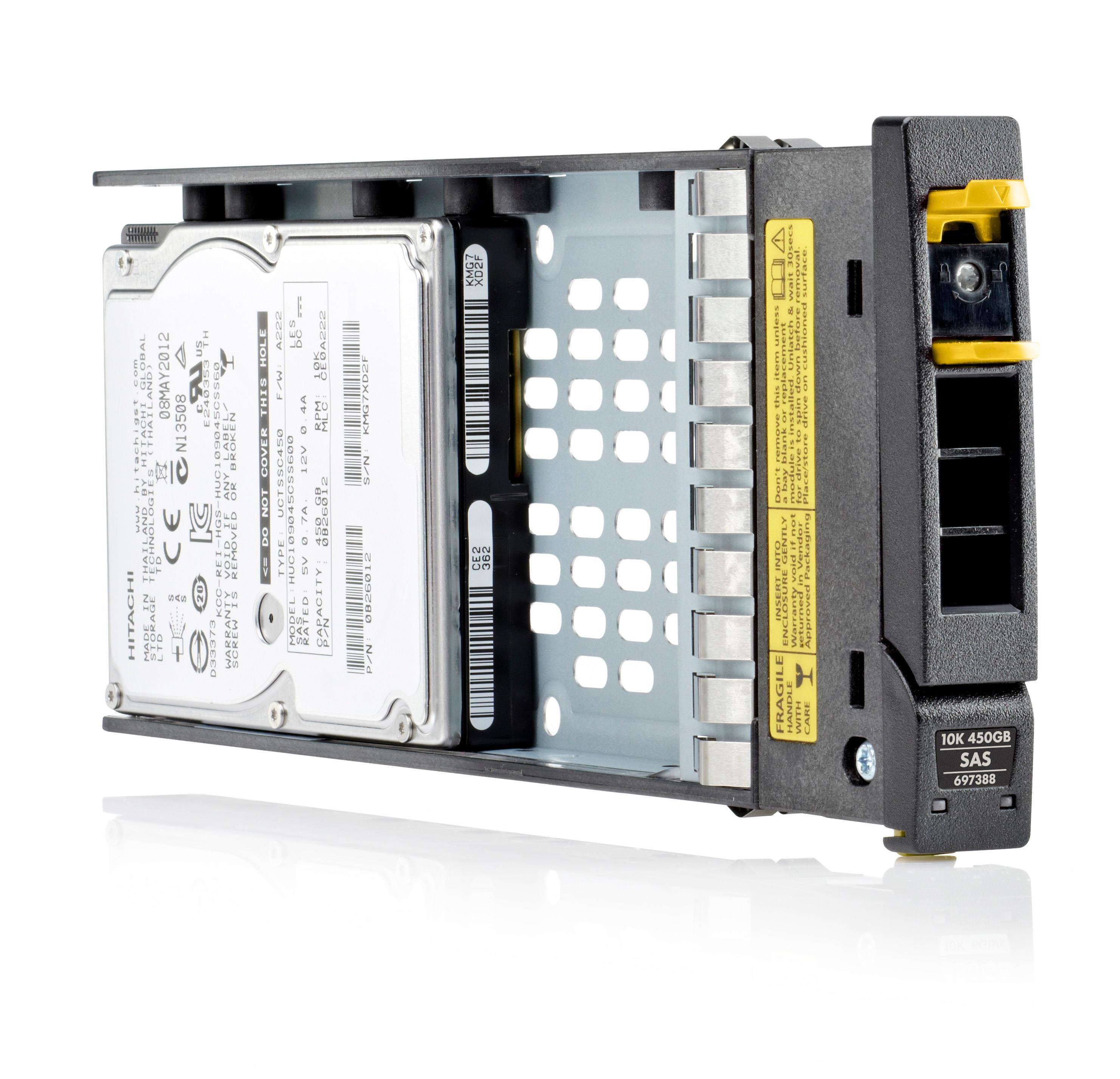 HP (1.2TB) Hard Drive SAS 12G 10,000rpm SFF 2.5 inch (Internal) for MSA