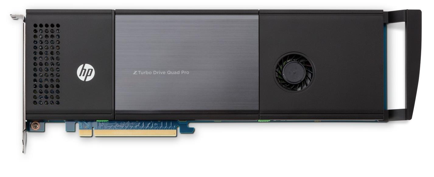 HP Z Turbo Drive Quad Pro (512GB) PCI Express Solid State Drive Module (Internal)