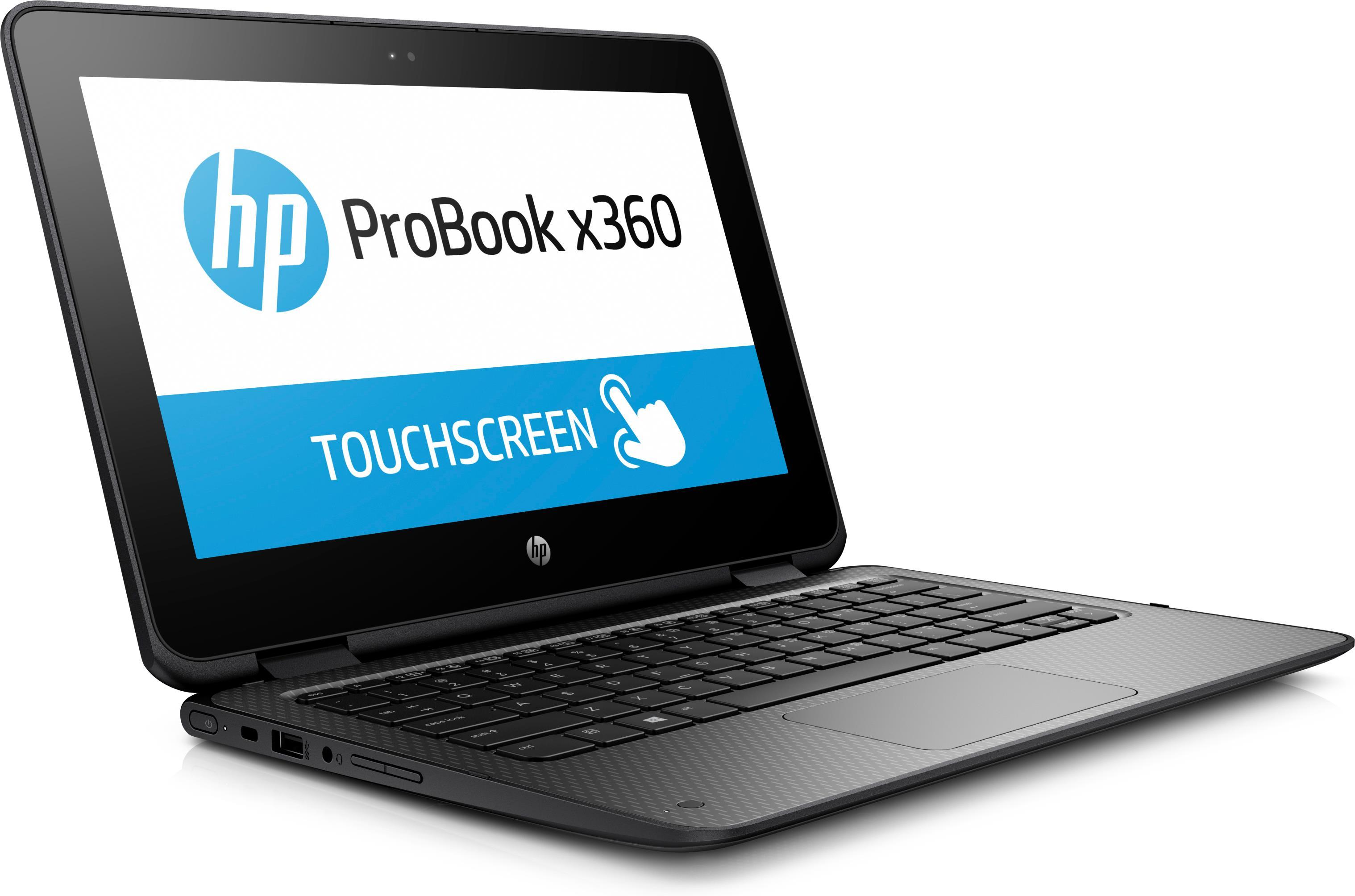 HP ProBook x360 11 G1 EE (11.6 inch Touchscreen) Notebook Pentium (N4200) 1.1GHz 4GB 128GB SSD WLAN BT Webcam Windows 10 Pro 64-bit (HD Graphics 505)