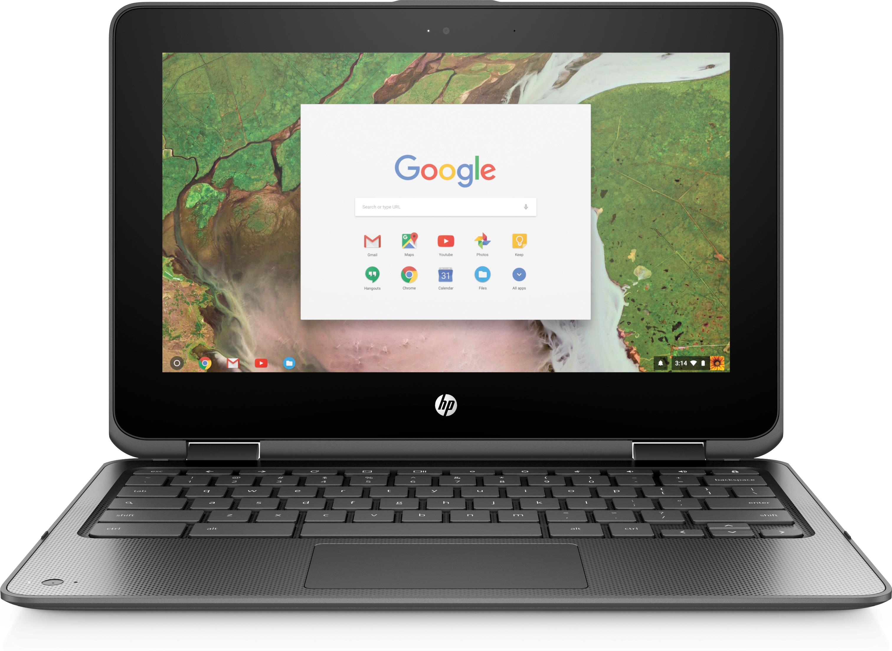 HP Chromebook x360 11 G1 EE (11.6 inch Touchscreen) Notebook Celeron (N3350) 1.1GHz 4GB 64GB eMMC WLAN BT Chrome OS (HD Graphics 500)