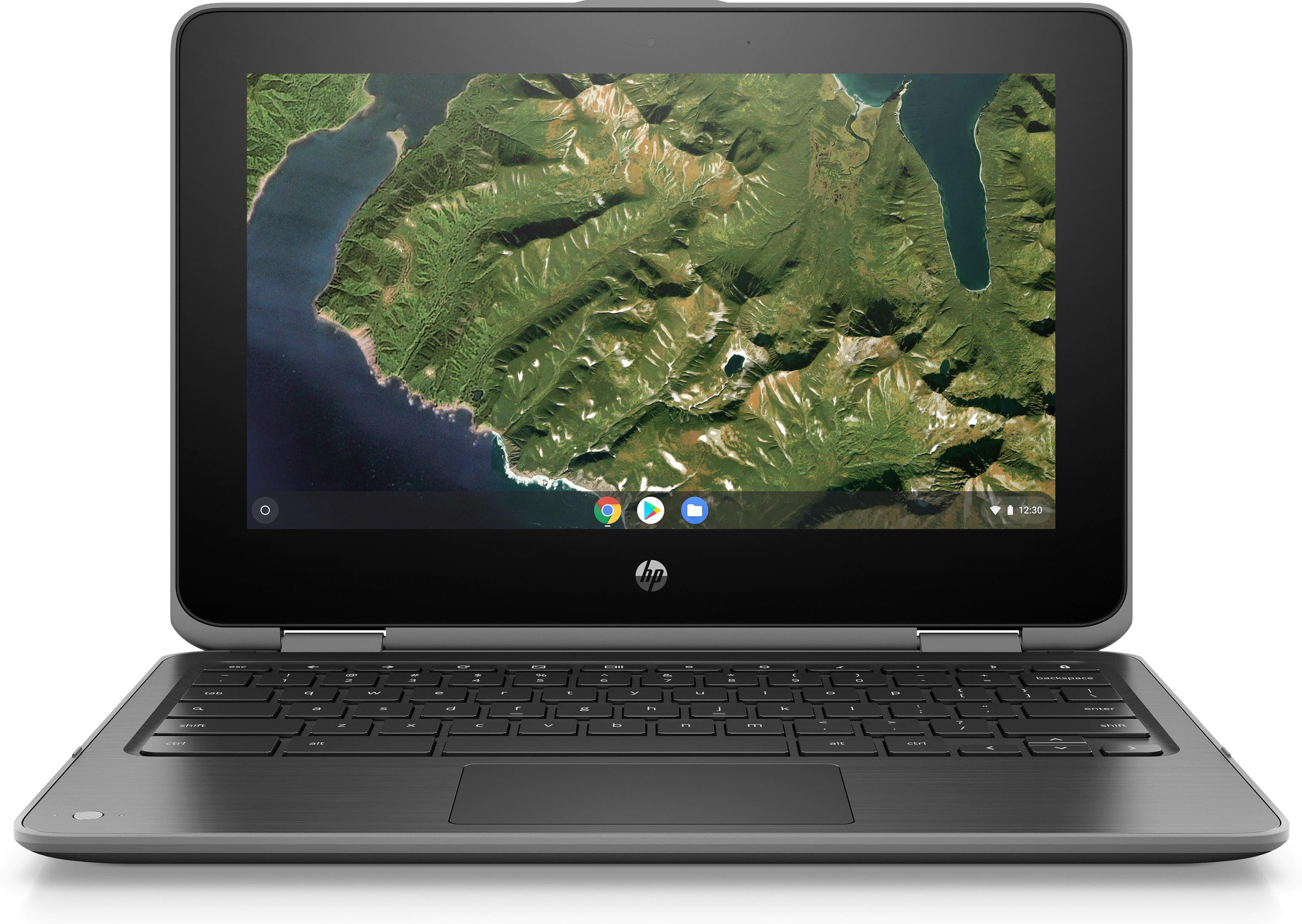 HP Chromebook x360 11 G2 EE (11.6 inch) Notebook PC Celeron (N4000) 1.1GHz 4GB 32GB eMMC Chrome OS (HD Graphics 600)