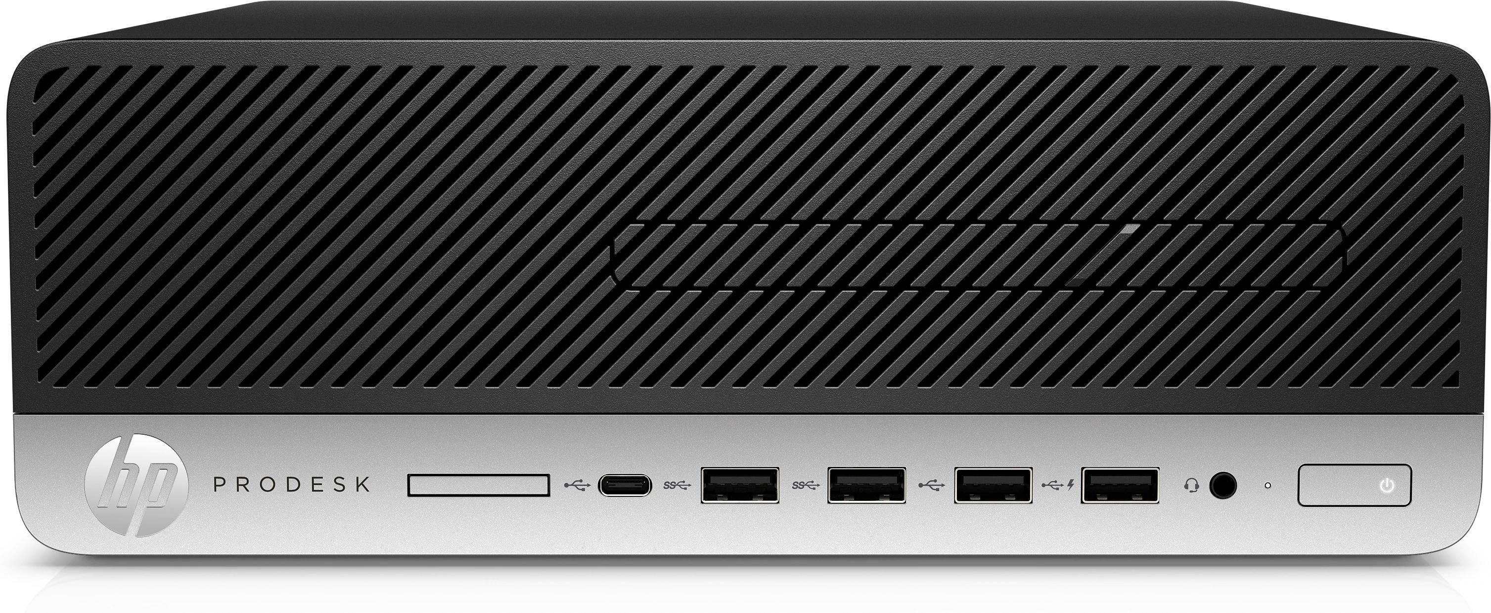 HP ProDesk 600 G5 Small Form Factor PC Core i7 (8700) 3.2GHz 8GB 256GB SSD LAN Windows 10 Pro (UHD Graphics 630)