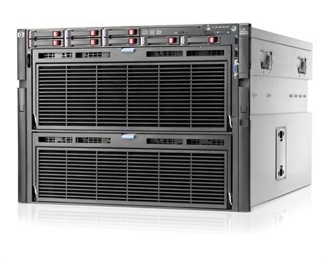 HP ProLiant DL980 (G7) Rack Server 8U (4P) Intel Xeon Ten Core E7 (4870) 2.4GHz 256GB (No HDD) SAS SFF Slim SATA DVD-RW with 8 x 1200W Platinum Hot Plug Power Supplies