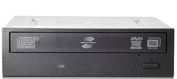 HP 16X DVD SuperMulti SATA Internal Optical Drive (Black Bezel)