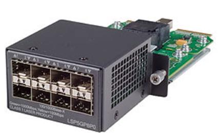 HP 8-Port Gig-T Module for HP 5500 HI Series Network Switches