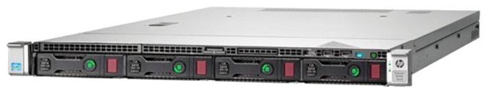HP ProLiant DL160 Gen8 (1U) Performance Server (2P) Xeon Six Core E5 (2640) 2.5GHz 16GB-R (no HDD) SFF SAS/SATA/SSD (Integrated Matrox G200) with 500W Power Supply