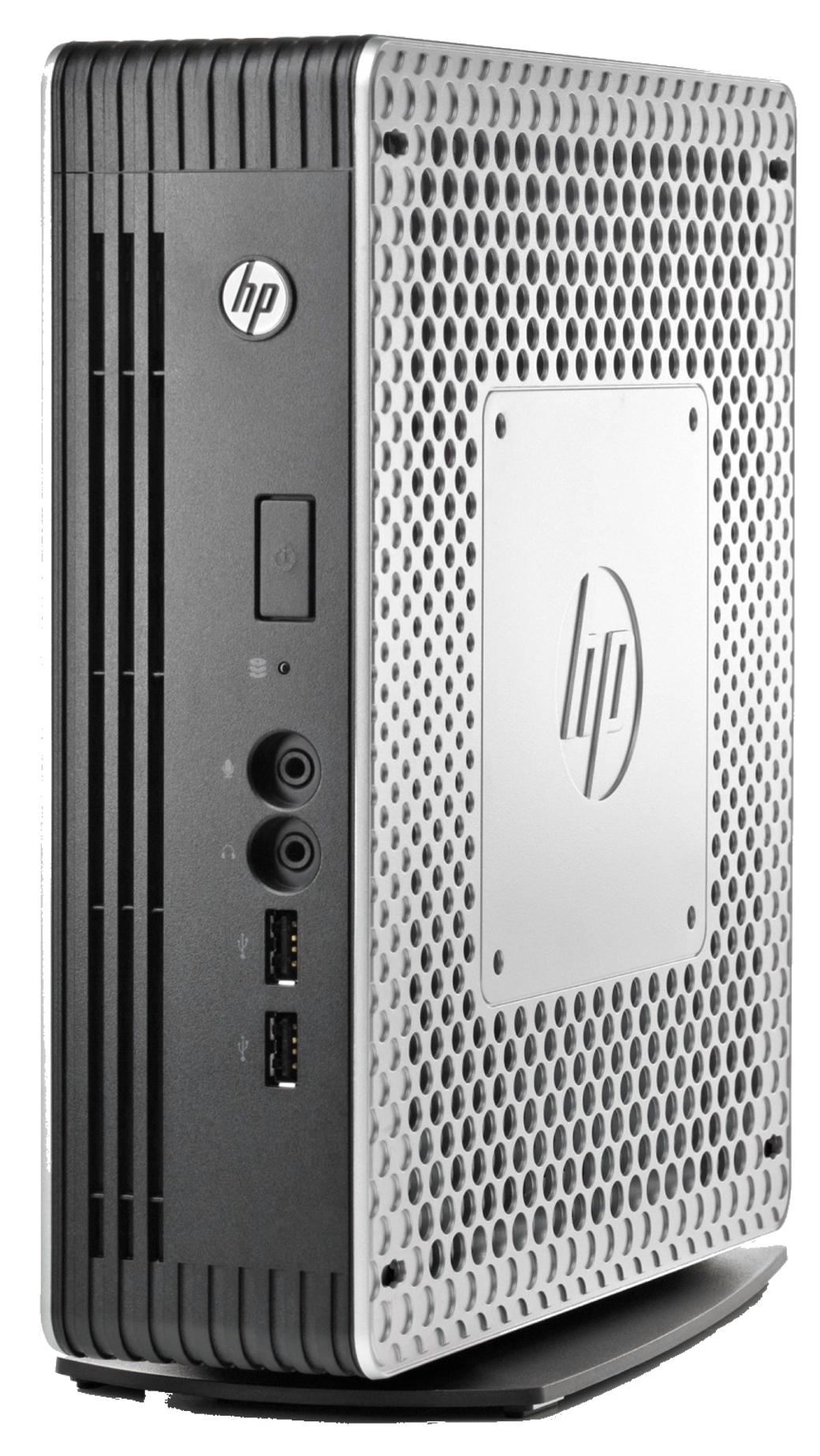 HP t610 PLUS Flexible Thin Client Dual Core (T56N) 1.65GHz 4GB 16GB Flash WLAN Windows 7 Standard Embedded (Radeon HD 6320)