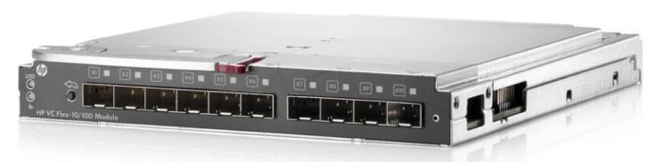 HP Virtual Connect Flex-10/10D Module Enterprise Edition for BLc7000 Option