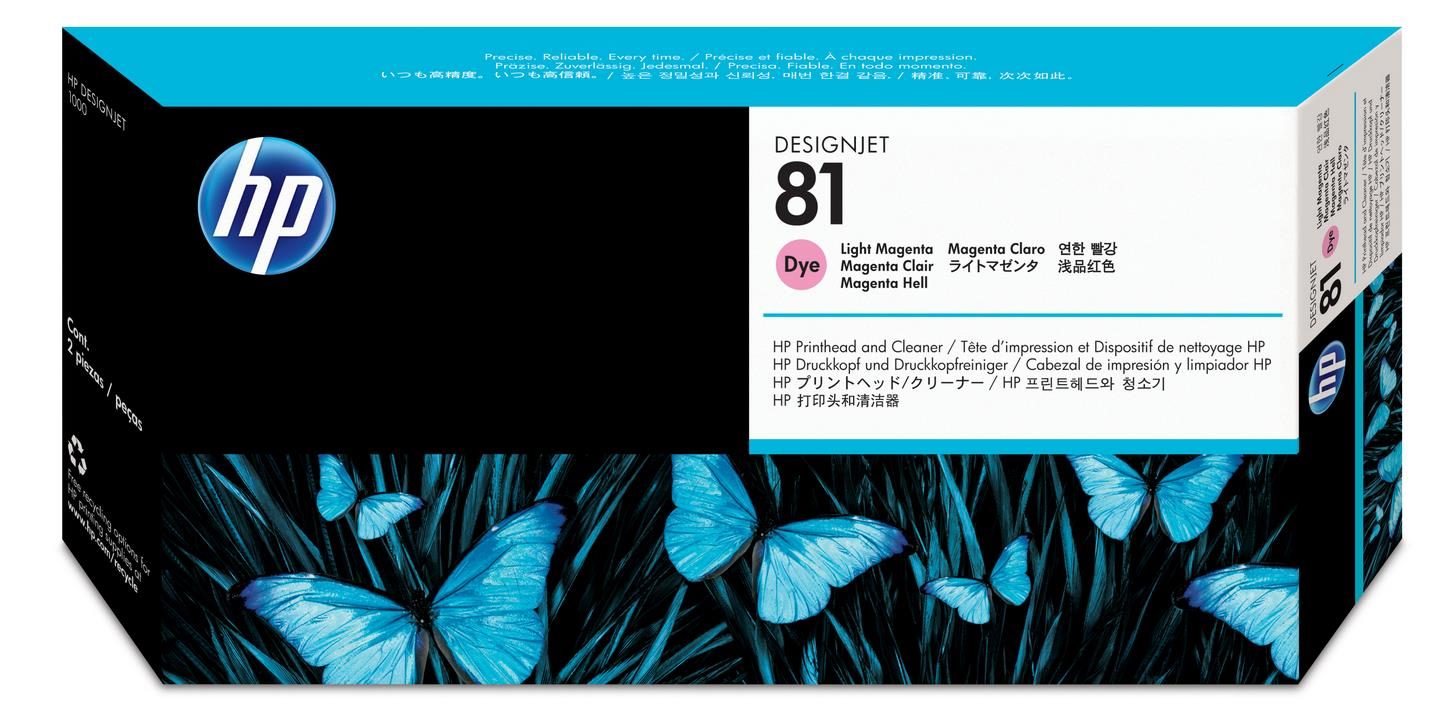No. 81 Dye Ink Printhead and Cleaner-Light Magenta