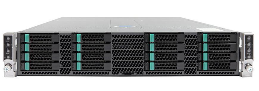 Intel H2216XXKR2 (2U) Rack Server Chassis