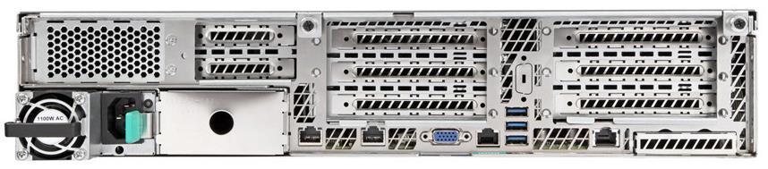 Intel R2000WTXXX (2U) Rack Server Chassis