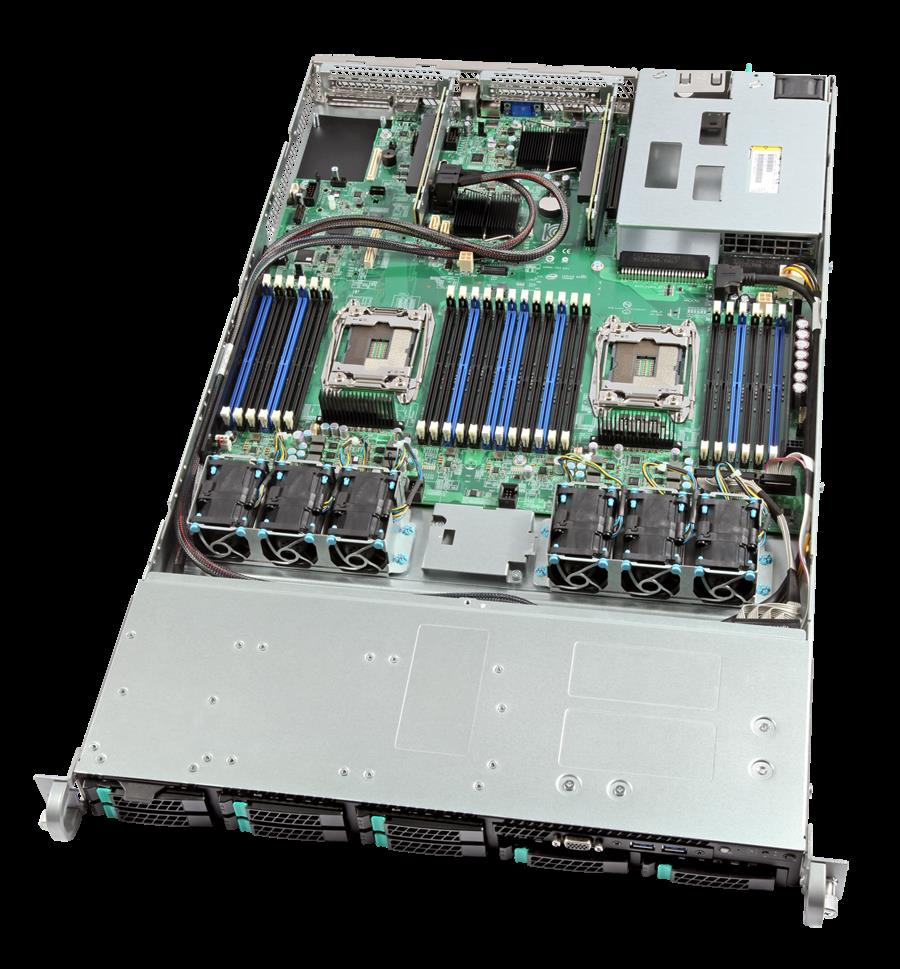 Intel R1208WTTGSR (1U Rack) Barebone Server