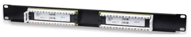 Intellinet Cat6 Patch Panel 16-Port UTP 1U