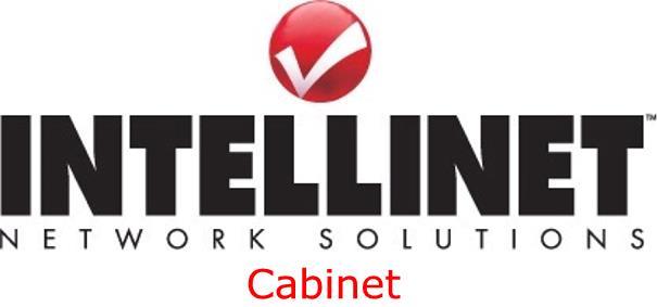 Intellinet (19 inch) Basic Wallmount Cabinet 6U Flatpacked (Black)