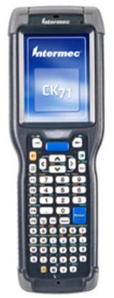 Intermec CK71 Handheld Mobile Computer (Numeric, EX25, No Camera, WLAN, WEH-P, LP, SS)