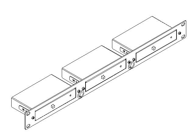 Kramer Electronics RK-3T 19 inch Rack Adaptor