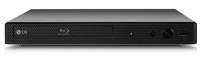 LG BP350 Blu-ray Disc Player with Streaming Services and Built-in WiFi