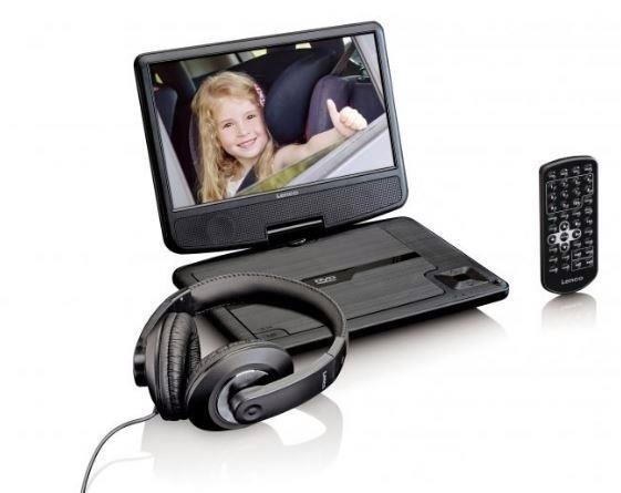 Lenco DVP-911BK  Portable DVD Player (Black)