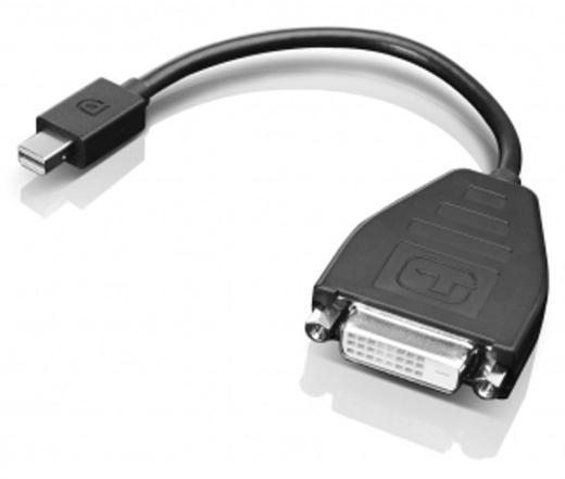 Lenovo Mini-DisplayPort to Single Link DVI Cable (Black)