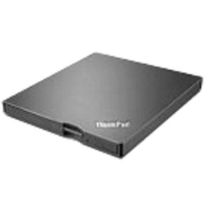 Lenovo Ultraslim DVD Burner (DVD±RW Dual±R/DVD-RAM) USB (Black) for ThinkPad Notebooks